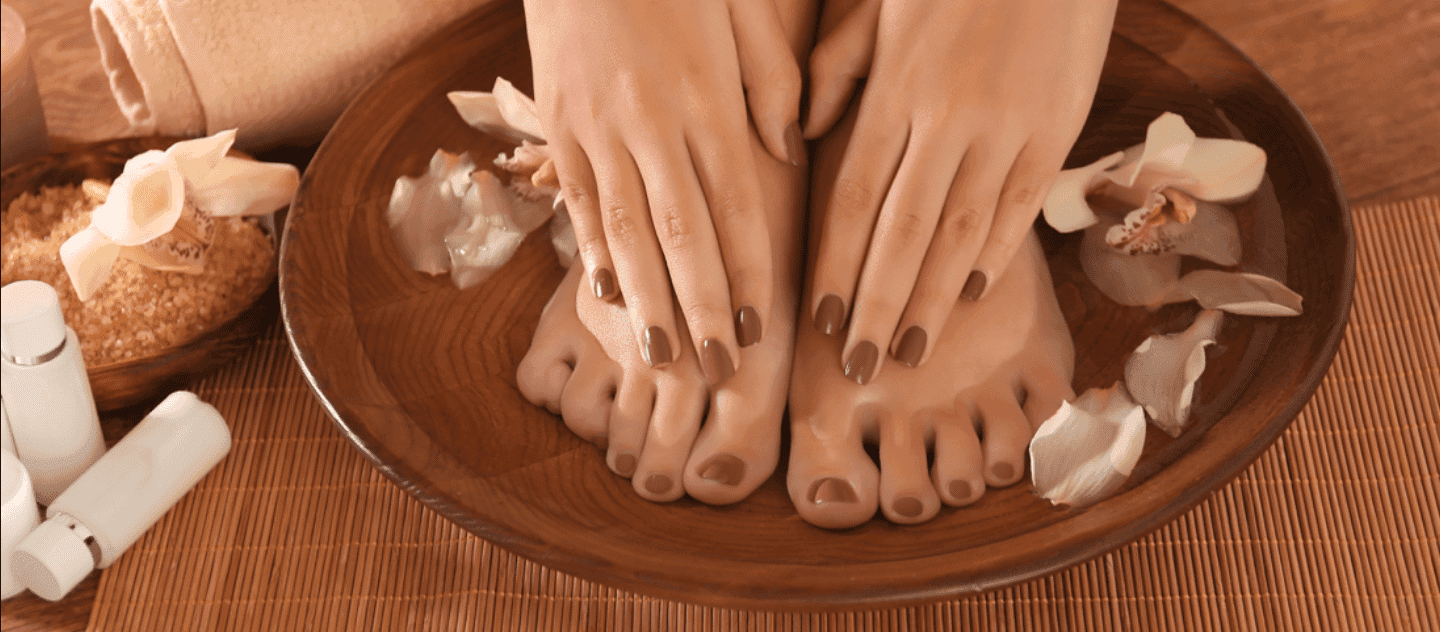 Manicure and Pedicure with Massage
